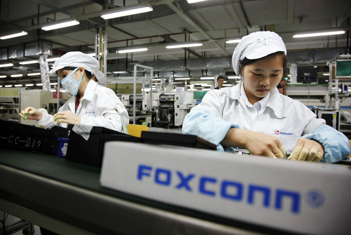 Foxconn to invest $4 billion in new robotics and automation technology